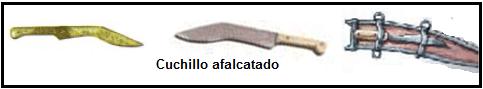 Cuchillo afalcatado