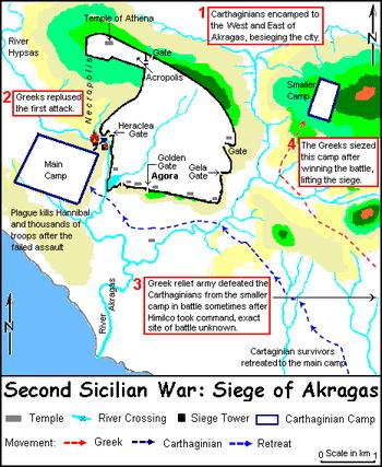 Batalla de Akagras 406 AC