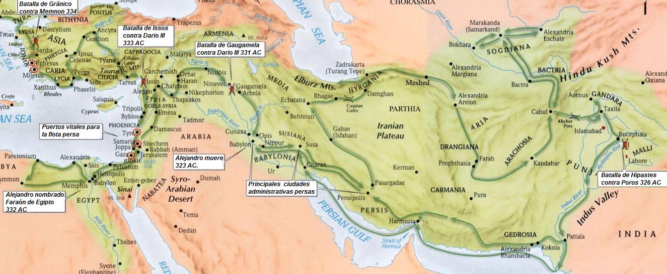 Campañas de Alejandro Magno
