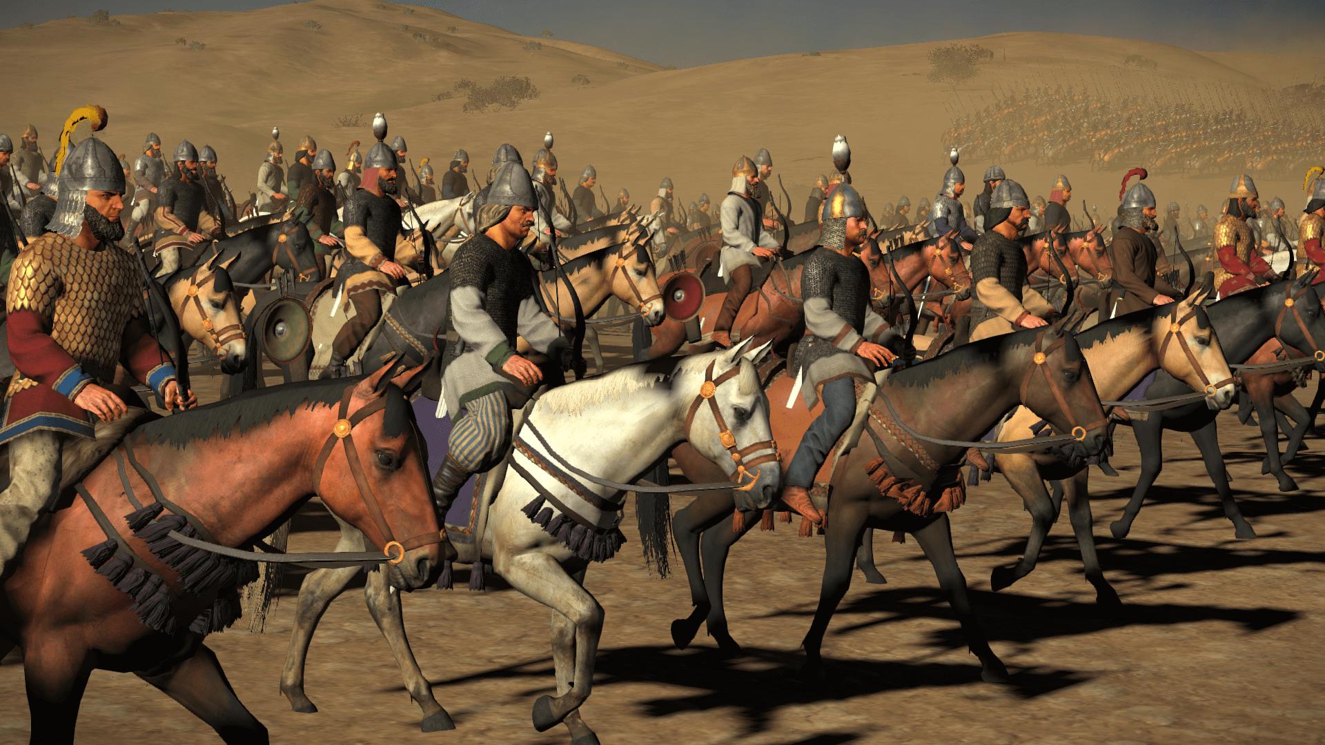Caballería media sasánida o dehbed estaba formado por la pequeña nobleza o dekhan