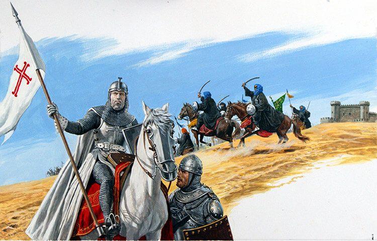 El Cid contra los almóravides