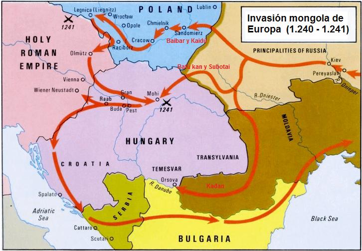 Campaña mongola en Europa
